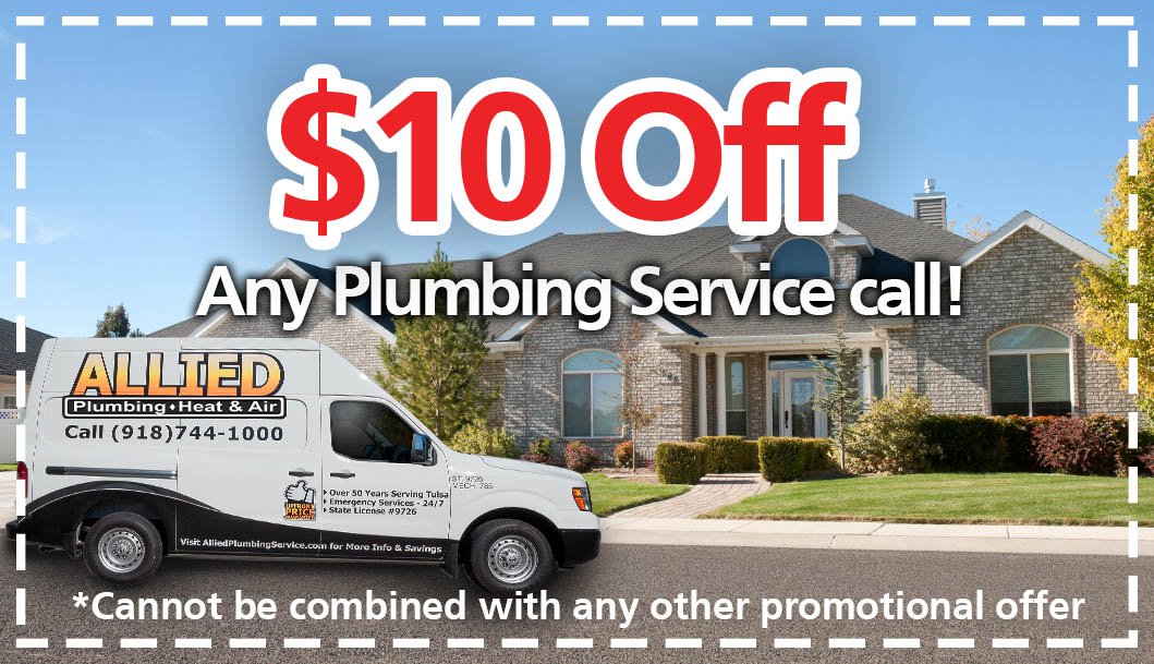 $10 off any plumbing service call